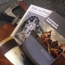 2 Livros Edda Em Prosa + Histórias De Ragnar Lodbrok Vikings
