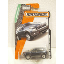 Matchbox Camioneta Jeep Cherokee Trailhawk Azul 102/120