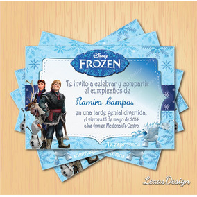 Kit Imprimible Fiesta Frozen + Candy Bar