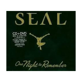 Cd Seal - One Night To Remember - Cd+dvd