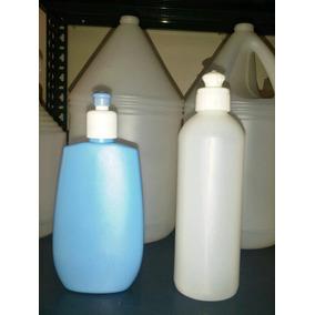 Envase Plastico Para Shampoo Crema O Lavaplatos De 400cc