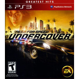 Juego Ps3 Need For Speed Undercover - Formato Fisico