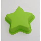 Molde De Silicona Diseño Estrella Mini Tortas Oferta Elmaral