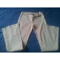 Pantalon De Dama Strech Marca Bershka Talla 6 Usado