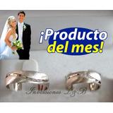 Anillos De Matrimonio Plata Oro Y Mas