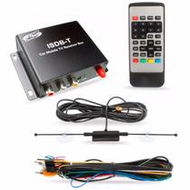 Receptor Antena Tv Digital Dvd Automotivo Kit Carro H Tech