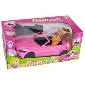 Boneca Flash Girl - Lua De Cristal