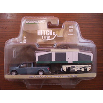Greenlight Hitch & Tow 2015 Ford F-150 & Pop-up Camper