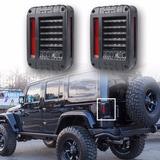Calaveras Rudo Led Para Jeep Wrangler Jk 2007 - Actual