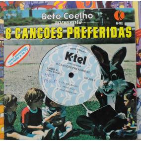 6 Canções Preferidas Compacto Vinil História Infantil