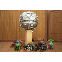 Lote Diorama Techno Planet C 6 Nave Shadow Raiders Ve Anunc