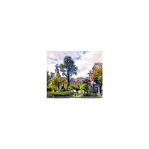 Pintura Arte Gardens Of The Tuileries The Louvre Art, 30 X2