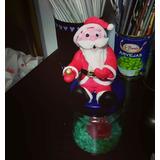 Papa Noel En Porcelana Fría Ideal Para Centro De Mesa