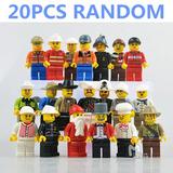 Exclusivo Set De 20 Figuritas Lego Peliculas