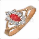 Anillos Mujer Oro 18k Cintillo Roseta Piedras Cubic + Envio