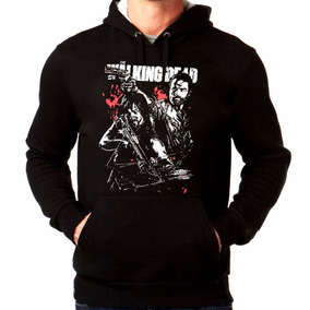 Blusa The Walking Dead Moletom Canguru Frio Mod 2 Moleton