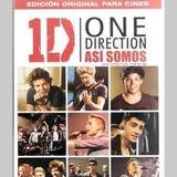 One Direction Asi Somos Dvd Nuevo
