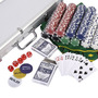 Goplus 500 Fichas Poker Dados Chipset Texas Hold Cartas Con