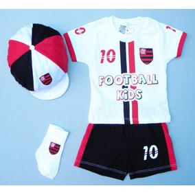 Conjunto Flamengo Bebê,temos Macacão E Saída Maternidade