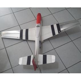 Promoção!! Avião P51 - Isopor P25 Depron E Compensado