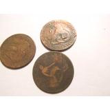 Antiguas Monedas Españolas De Cobre