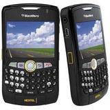 Celular 8350i Radio Nextel Blackberry Sms Desbloq Cor Preto