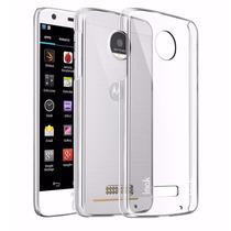 Cubierta Rígida Cristal Transparente Motorola Moto Z Play