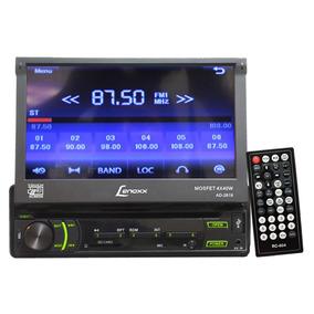 Rádio Dvd/cd Player Tela Touch Retrátil Mp3 Fm Aux Ad2619