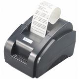 Impresora Térmica Pos 58mm Alta Velocidad 10 Años + Rollo