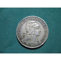 Moneda 1 Escudo 1940, Portugal Km# 578