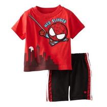Marvel Spiderman Conjunto 2 Piezas 18 Meses Y 24 Meses