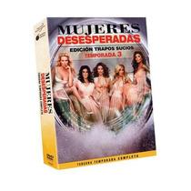 Esposas Desesperadas Tercera Temporada 3 Tres Serie Dvd