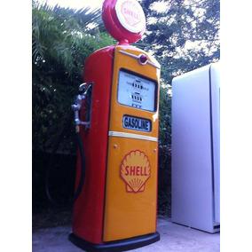 Replica Bomba Gasolina Antiga Fibra