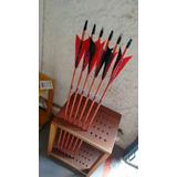 6 Flechas De Madeira Personalizadas