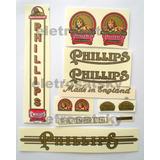 Decalque Bicicleta Phillips Base D
