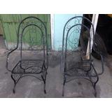 Cadeiras De Ferro De Varanda