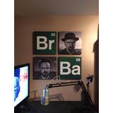 Cuadros Combo Breaking Bad - Heisenberg - Medida S
