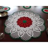 Juego De Mesa 9 Tapetes Tejido Crochet 100% Algodon. Rebaja!