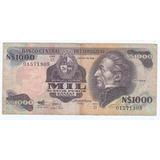 Cédula De Mil 1000 Peso Novos - Uruguay.