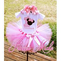Minnie Mouse Tutu Vestido Niña Bebe Cumpleaños Tutus Mini