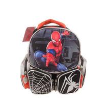 Mochila Espalda Spiderman Hombre Araña 3d 45x35cm Original