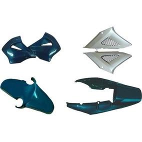 Kit Carenagem Completo Cbx 250 Twister Verde Mod 2008