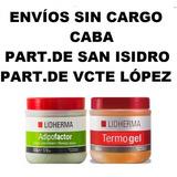 Lidherma Termogel + Adipofactor + San Isidro- Vte López.caba