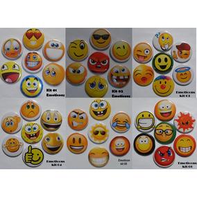 Kit De Bottons - Emoticons-promoção L3p2