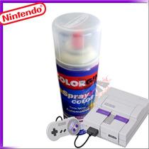 Spray Cinza Nintendo Duco P/ Console Super Nintendo