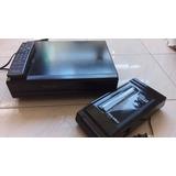 Vhs Panasonic + Rebobinador - Repuestos O Reparación