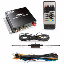 Receptor Tv Carro Digital Recepção De Alta Velocidade H-tech