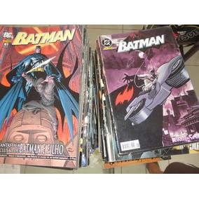 Hqs Batman Mensais (pré 52) Panini Em Lote
