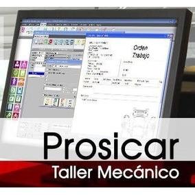 Programa Sistema Control Taller Mecánico Carros Prosicar
