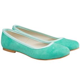 Ballerina Mujer Chatita Zapatos Ecocuero Almacen De Cueros